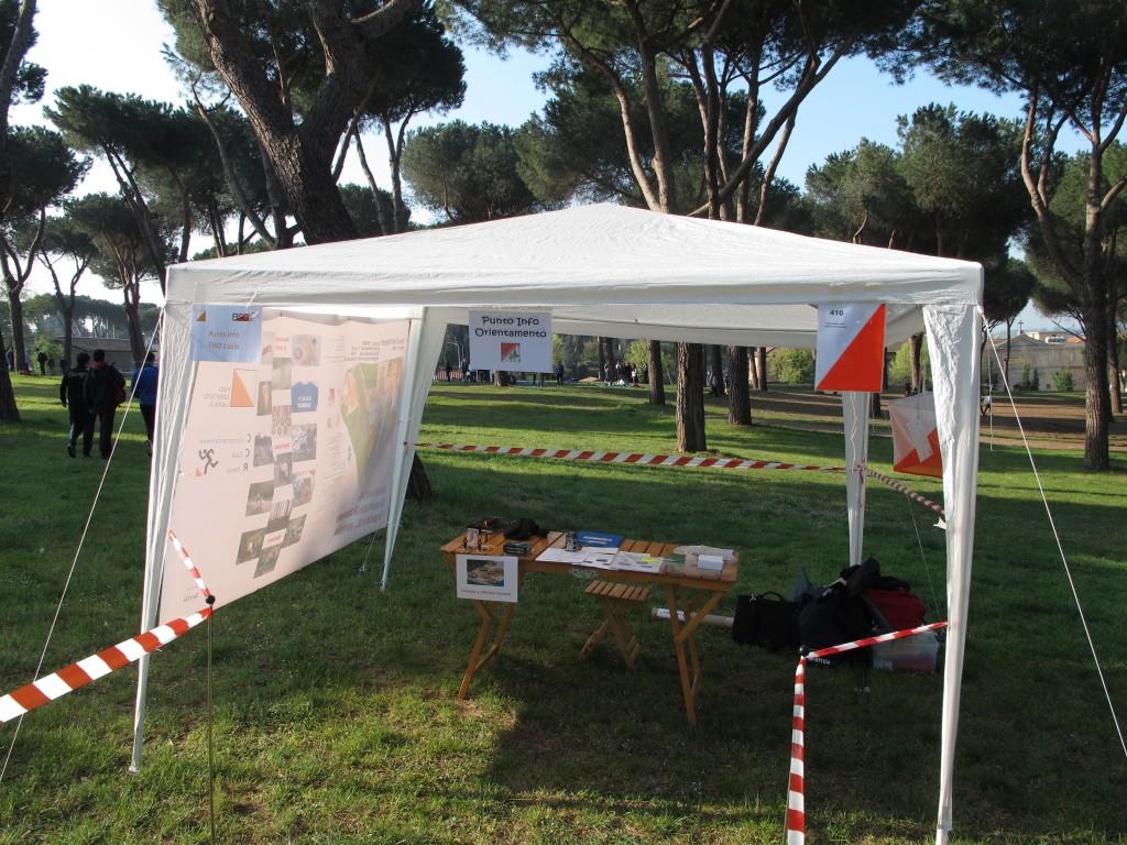 """Il """"Punto Info"""" a Villa Pamphili"""