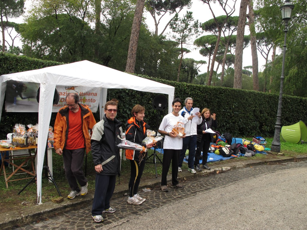 Premiazione a Villa Borghese
